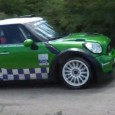 Pierre Campana co-piloté par Sabrina de Castelli a effectué ses premiers tours de roue au volant de la Mini WRC aujourd'hui dans le sud de la France. Afin de préparer...