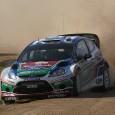 Qu'il est difficile d'ouvrir la route sur ce rallye d'Australie ! Dans l'ES4, c'est Sébastien Loeb qui est parti à la faute. Il s'est laissé déconcentrer par l'affichage d'un temps...