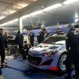 C'est avec une température juste en dessous de zéro mais sur le sec que se sont élancés les équipages du WRC pour la première fois de la saison sur le...