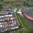 Le shakedown du rallye de France s'est déroulé ce matin au plus proche du parc sur un tracé de 3,80km. Un tracé toujours aussi moyen entre parkings et allées artificielles....