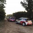 Ce matin, sous le soleil et sur un tracé d'environ 3km, les équipages ont participé au shakedown du rallye de Catalogne. Les autos sont en configuration terre pour la première...
