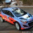 Hyundai a effectuer deux derniers jours d'essais avant le Monté-Carlo. Pas de neige pour la marcque coréenne, mais deux bases des Hautes Alpes avec de larges portions sèches. Lundi, Dani...
